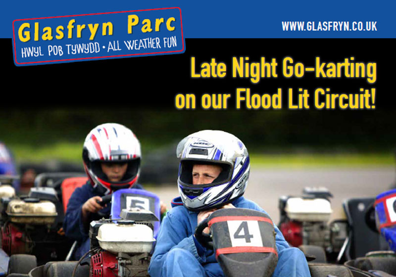 Glasfryn Parc's late Night Go-Karting
